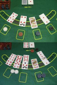 Beispiel eines Black-Jack-Spiels