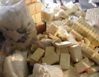 Sichergestelltes Kokain in Brasilien