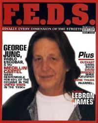 George Jung auf einem Cover des Magazins F.E.D.S.