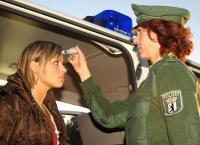 Die Polizei führt vermehrt Drogentests bei Verkehrskontrollen durch.