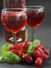 Gefüllte Weingläser