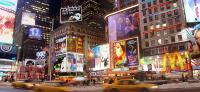 Der Times Square in New York - dieser Platz ist ein Ort des Konsums. Bei Kaufsucht ist die Konsumabhängigkeit nicht mehr kontrollierbar